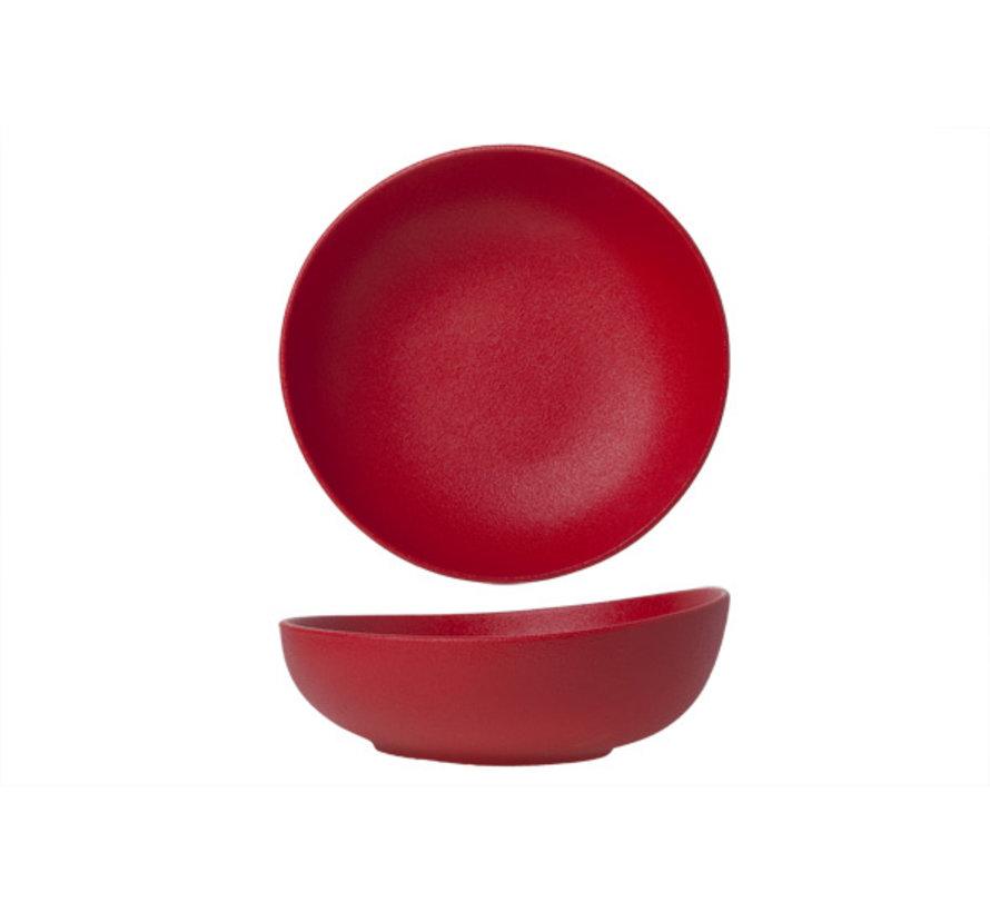 Cosy & Trendy Dazzle rode kommetje d21cm, 1 stuk