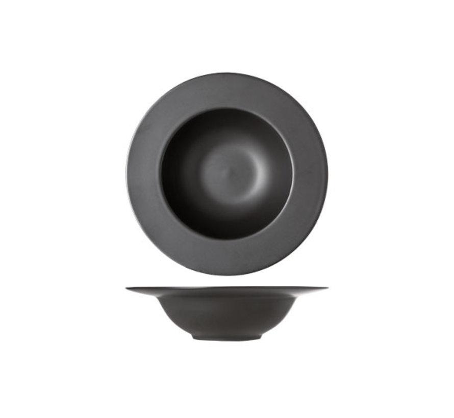 Cosy & Trendy Black diep bord d27cm, 1 stuk