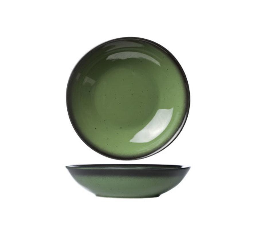 Cosy & Trendy Vigo emerald diep bord d22cm, 1 stuk