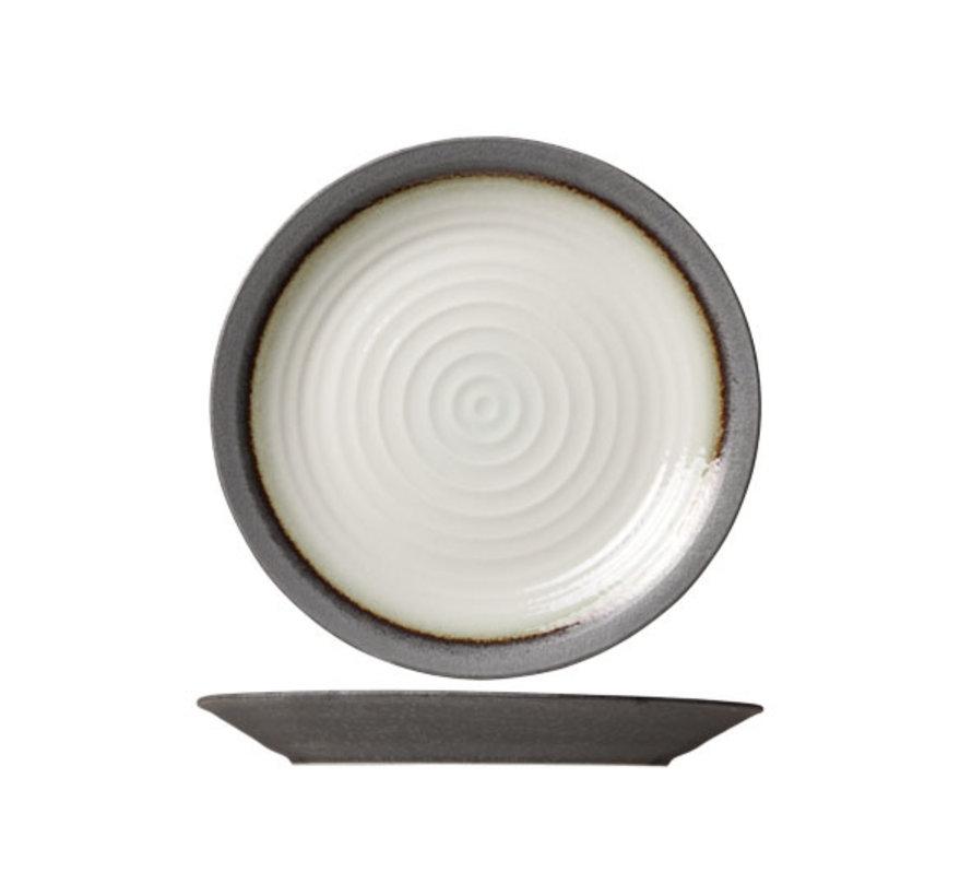 Cosy & Trendy Stone plat bord rond 25,5cm, 1 stuk