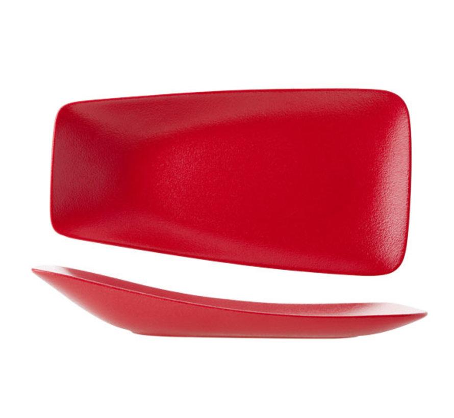 Cosy & Trendy Dazzle rode bord 29x15,5cm, 1 stuk