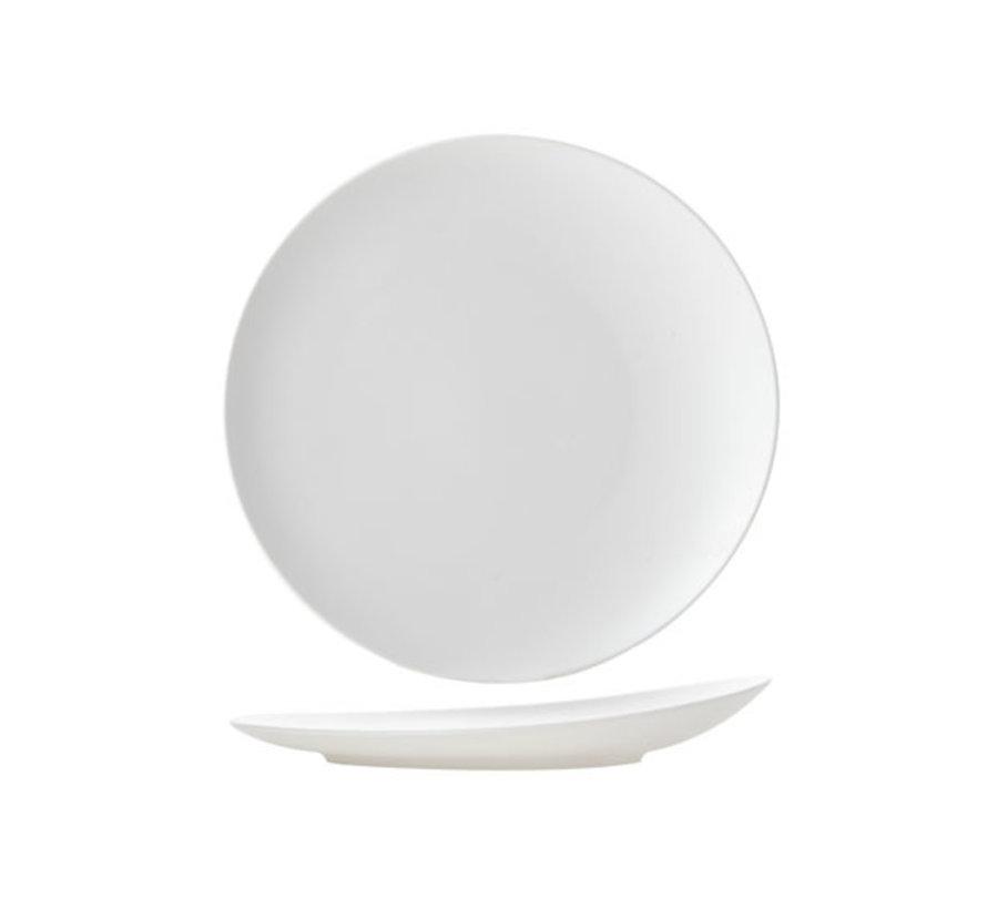 Cosy & Trendy Mat witte plat bord rond 27cm, 1 stuk