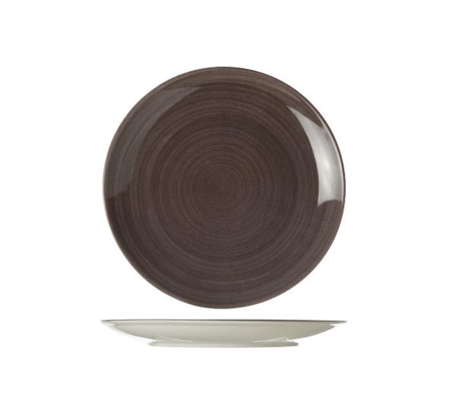 Cosy & Trendy Twister carbon plat bord rond 27cm, 1 stuk