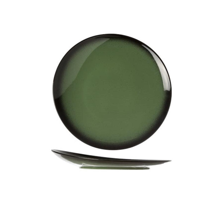 Cosy & Trendy Vigo emerald plat bord rond 27cm, 1 stuk