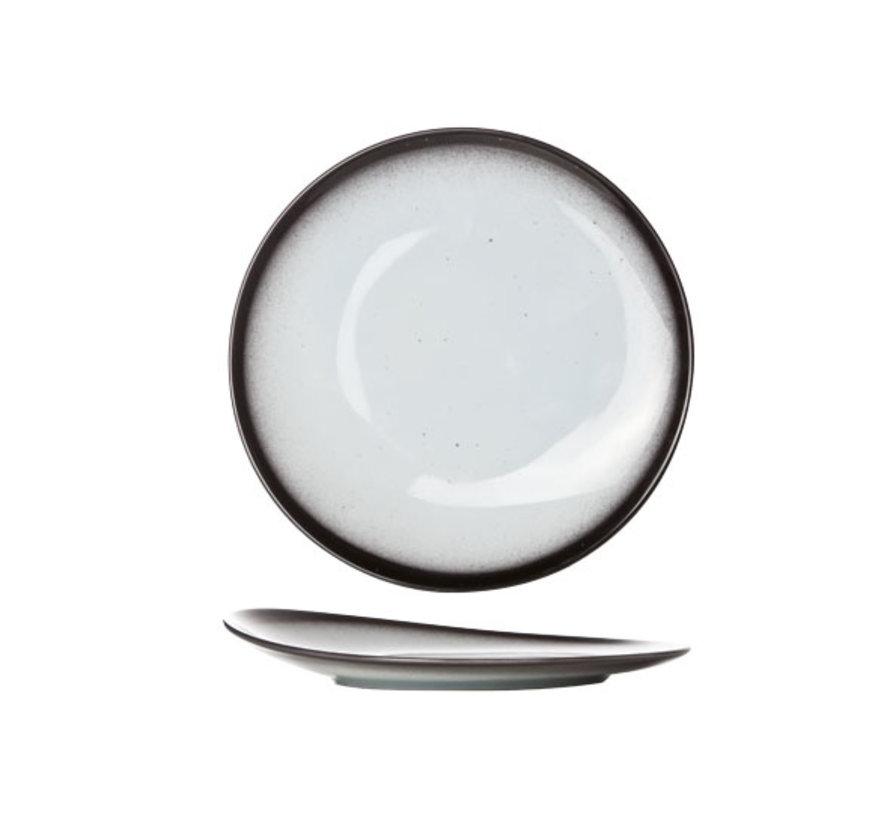 Cosy & Trendy Vigo shell plat bord rond 21cm, 1 stuk