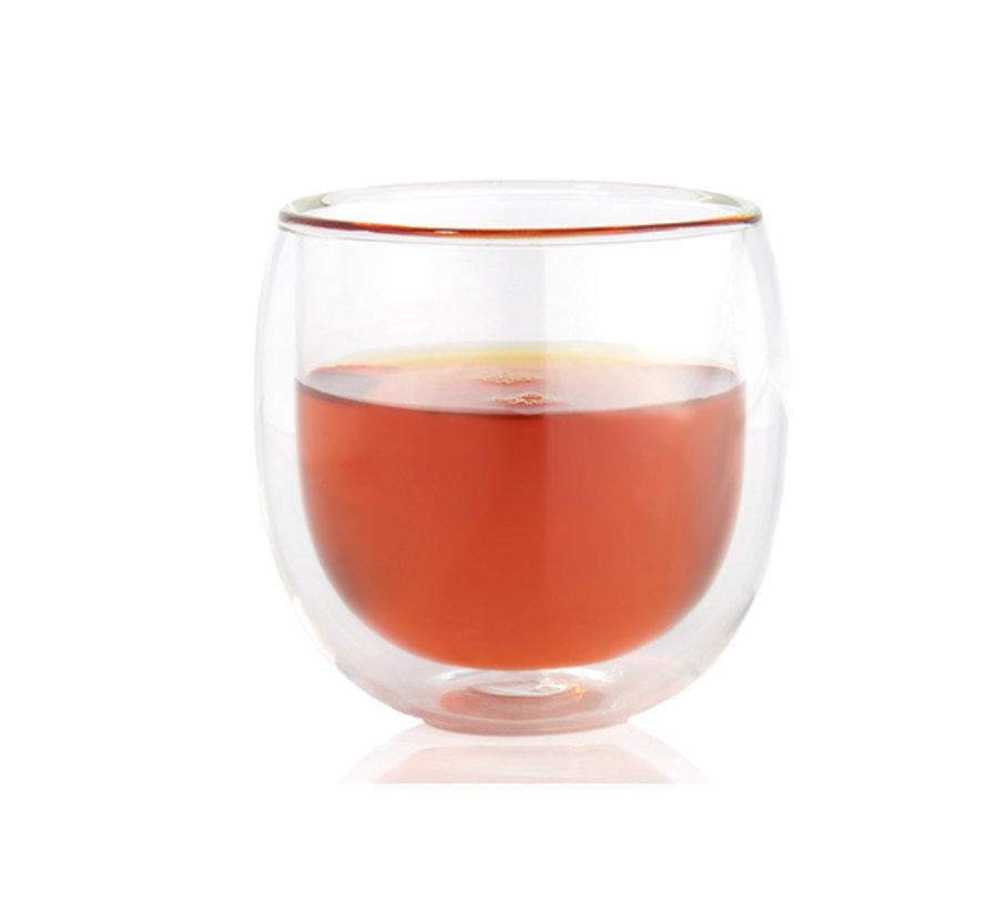 Hot glas dubbelwandig 200ml, 1 stuk