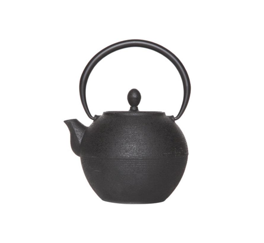 Cosy & Trendy Akita zwart theepot 1,2L, 1 stuk