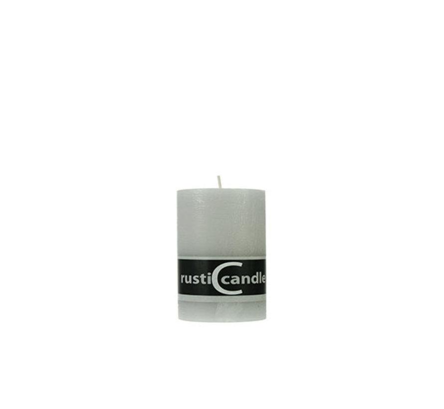 Cosy & Trendy Cylinderkaars rustic 70/130 steengrijs, 1 stuk