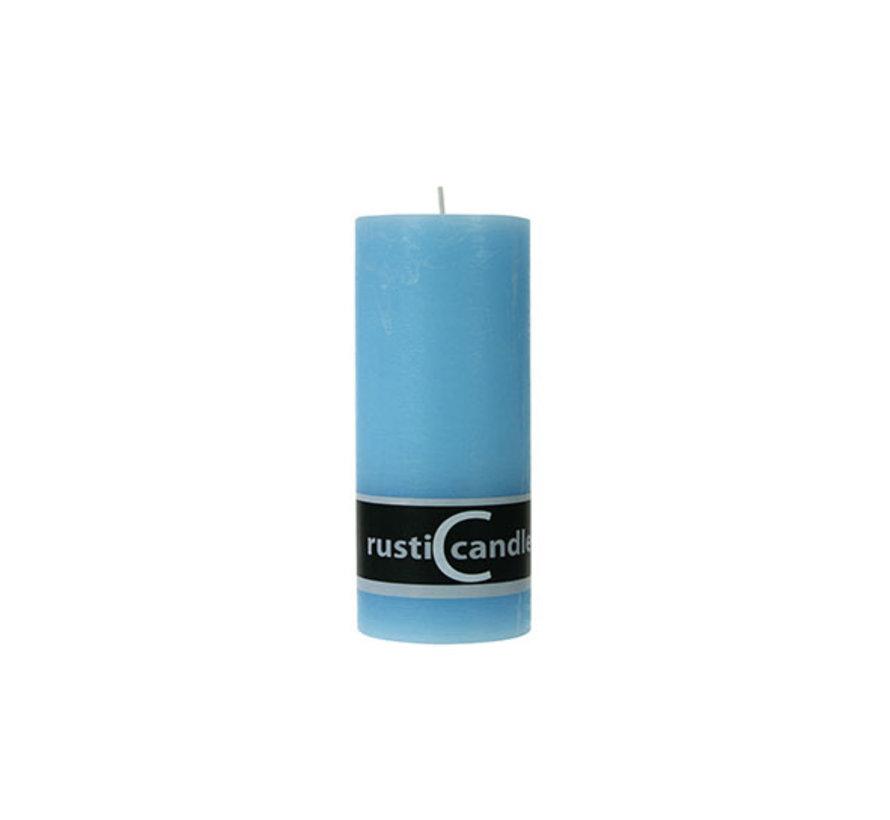 Cosy & Trendy Cylinderkaars rustic 70/190 acqua, 1 stuk
