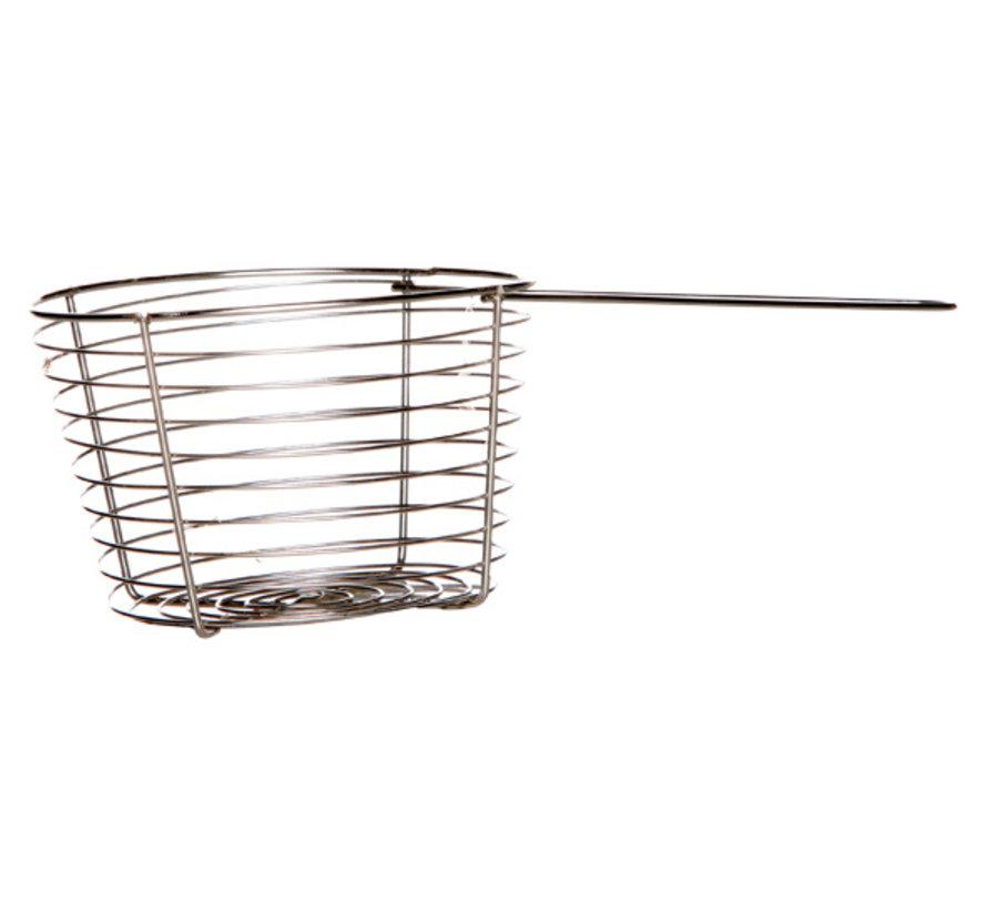 Cosy & Trendy Frietmandje wire d10,5-19,5xh7cm, 1 stuk