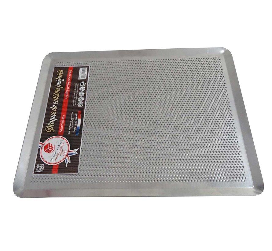 Bakplaat geperforeerd aluminum 40x30cm, 1 stuk