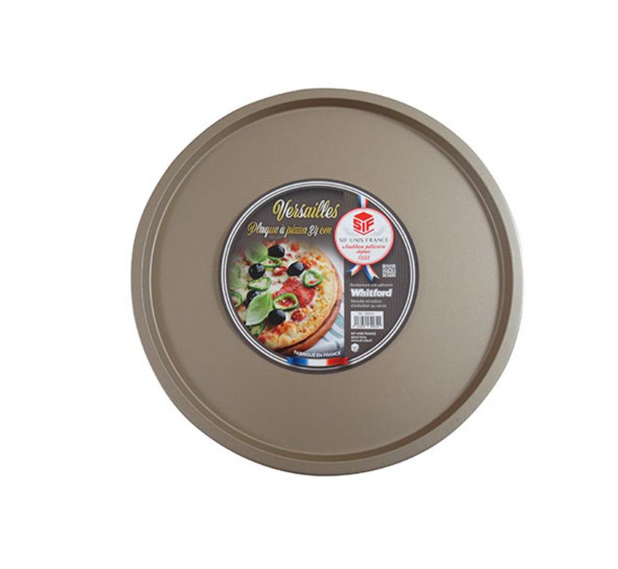 Versailles pizzaplaat d34cm bruin non st, 1 stuk