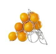 Cosy & Trendy Cosy & Trendy Sinaasappel-houder 32x32xh27cm wire, 1 stuk