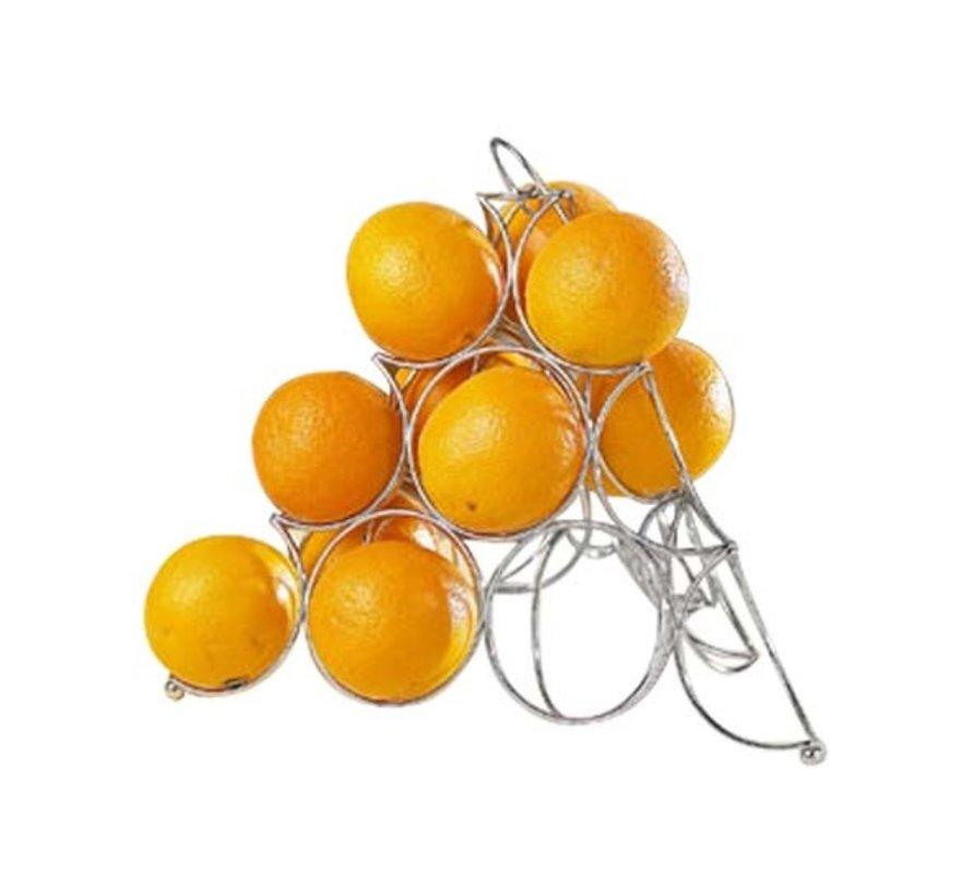 Cosy & Trendy Sinaasappel-houder 32x32xh27cm wire, 1 stuk