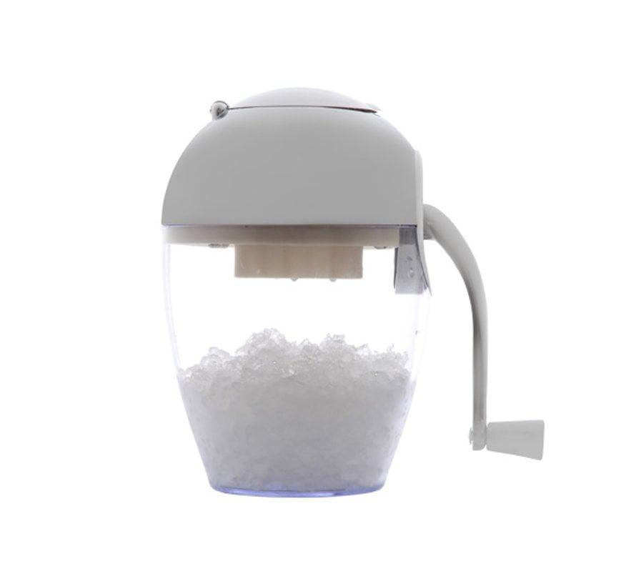 Cosy & Trendy Ijsmolen-ice crusher clear h24cm chroom, 1 stuk