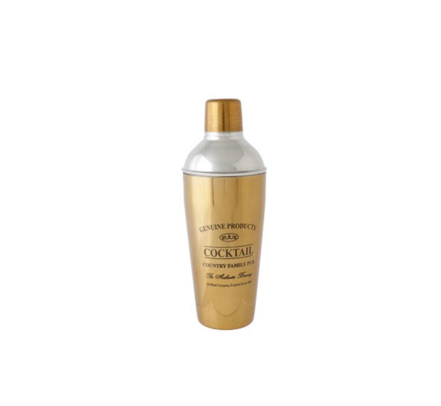 Cosy & Trendy Genuine gold shaker 75cl d8,7xh24,5cm, 1 stuk