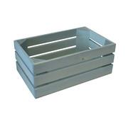 Overige merken Bisetti Gastronormbak 1-4 hout blauw 26x15,7xh10,5cm, 1 stuk