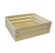 Overige merken Bisetti Gastronormbak 1-2 hout naturel 32x26xh10,5cm, 1 stuk