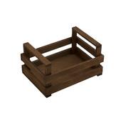 Overige merken Bisetti Krat bruin houten box s 20x14x10cm, 1 stuk