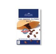 Overige merken Finum Koffiefilters s100 nr4, 100 stuks