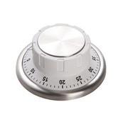 Cosy & Trendy Cosy & Trendy Keukentimer wit d9,2xh4,3cm magneet, 1 stuk