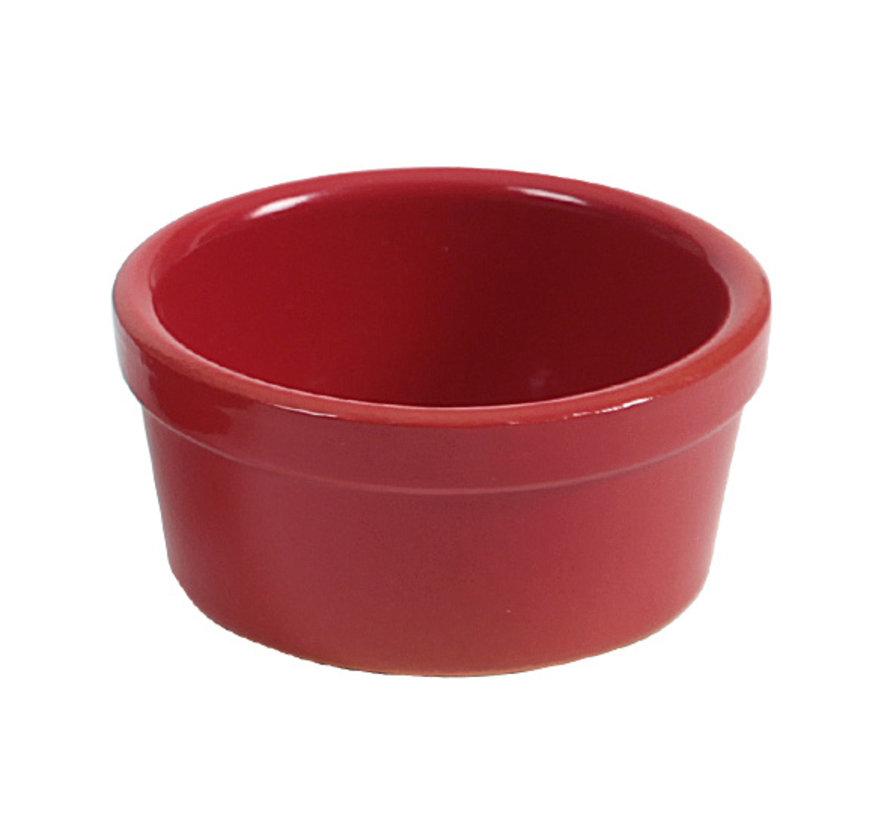 Regas Ramekin rood d8xh4cm, 1 stuk