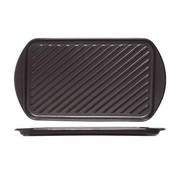 Cosy & Trendy Cosy & Trendy Grillschotel zwart 40,5x22,5xh2,1cm, 1 stuk