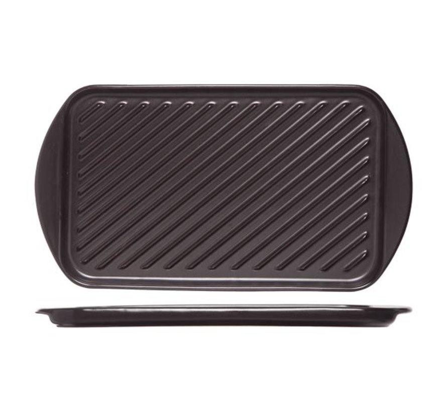 Cosy & Trendy Grillschotel zwart 40,5x22,5xh2,1cm, 1 stuk