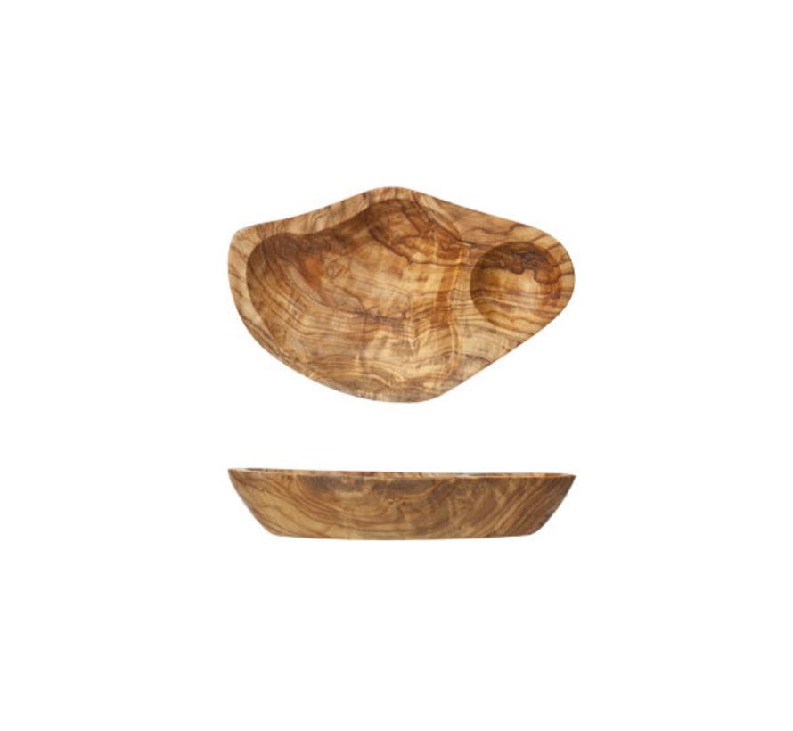 Cosy & Trendy Bordje antipasti 14x10cm olijfhout, 1 stuk