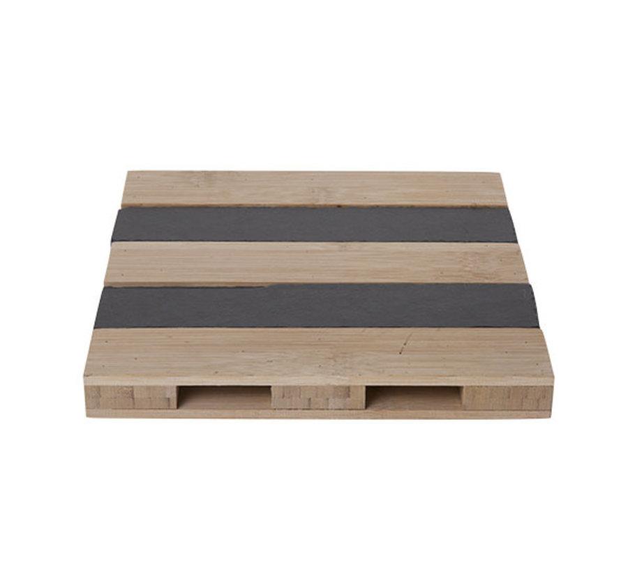 Cosy & Trendy Pallet bamboe-leie vk 20xh2,5cm, 1 stuk