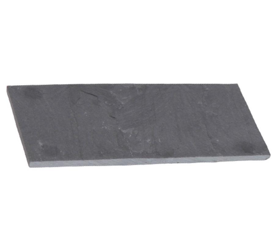 Cosy & Trendy Leisteen bordje 15x8,5xh0,4cm, 4 stuks