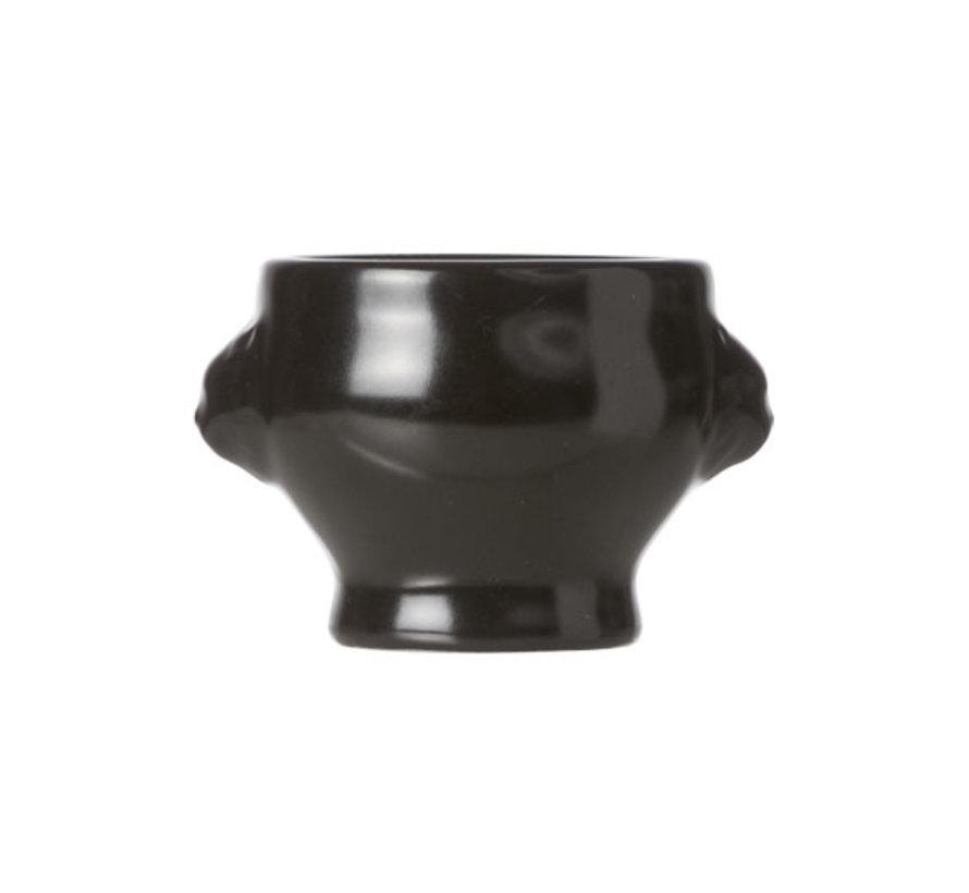 Cosy & Trendy Black aperopotje d5,5xh4,5cm, 6 stuks