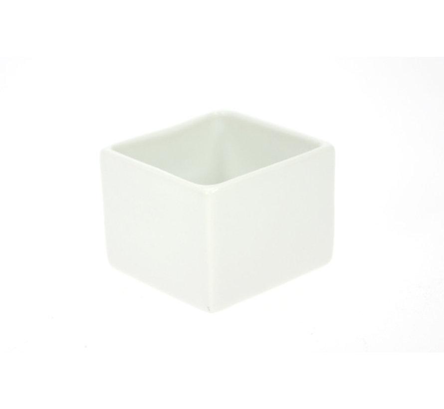 Cosy & Trendy Aperopotje 5xh4,5cm vierkantvormig, 6 stuks