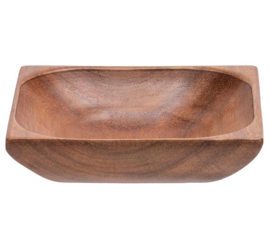 Cosy & Trendy Acacia houten schaaltje 10x10cm, 1 stuk