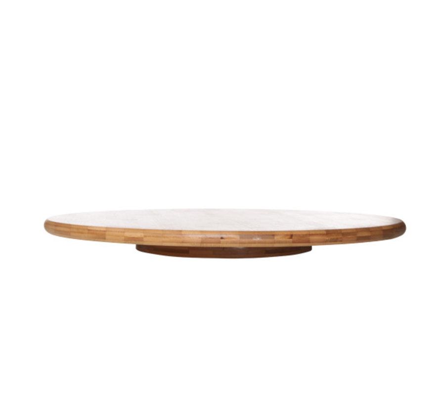 Cosy & Trendy Malawi lazy susan bamboe d50xh4,3cm, 1 stuk