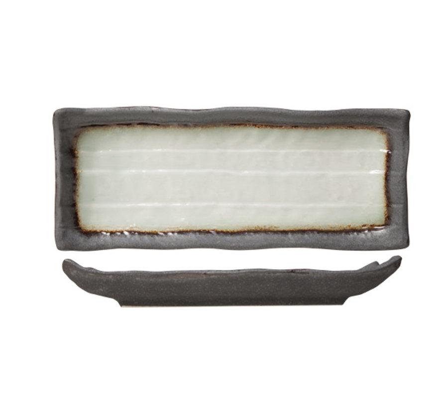 Cosy & Trendy Stone schaal rechthoekig 11x28cm, 1 stuk