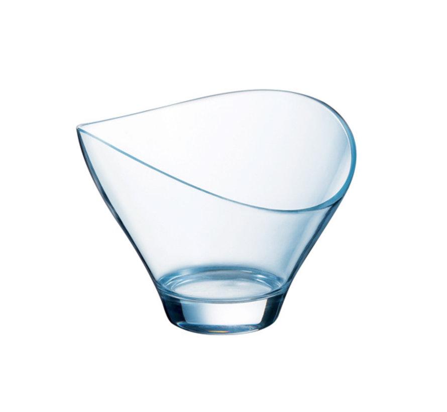 Arcoroc Jazzed ijscoupe 25 cl effen transp, 6 stuks