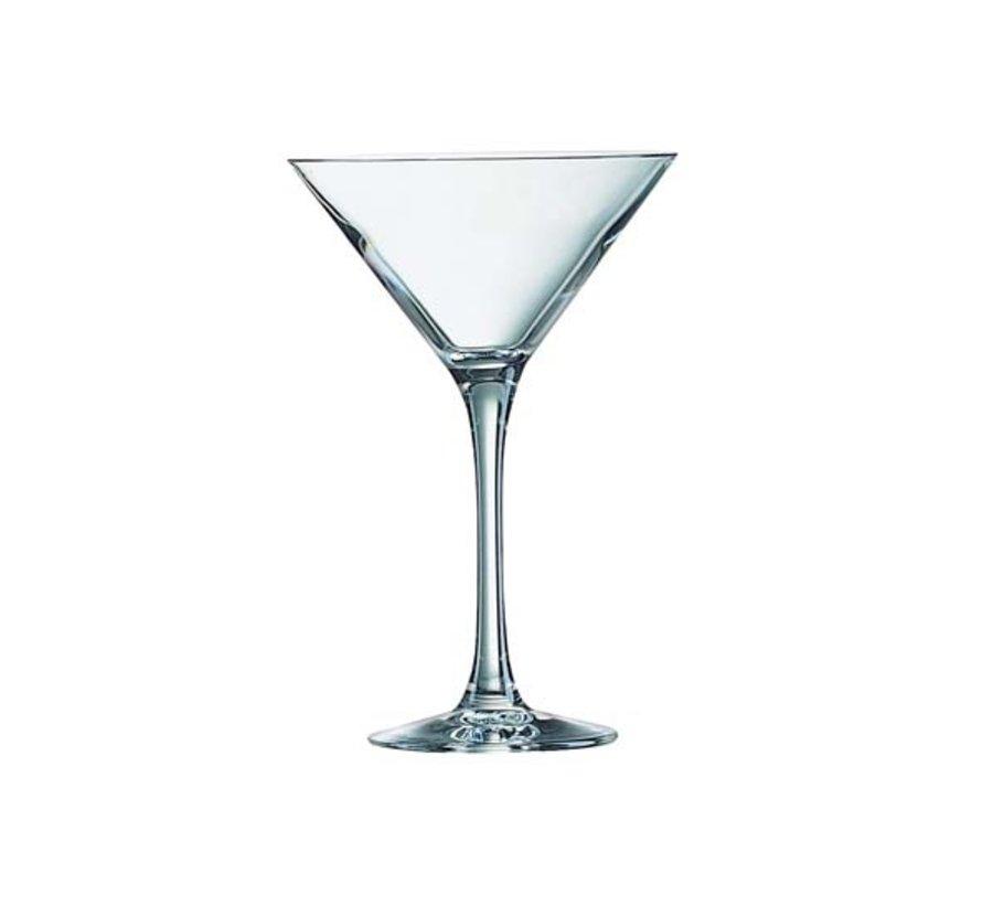 Arcoroc Martini cocktailglas 21cl, 6 stuks