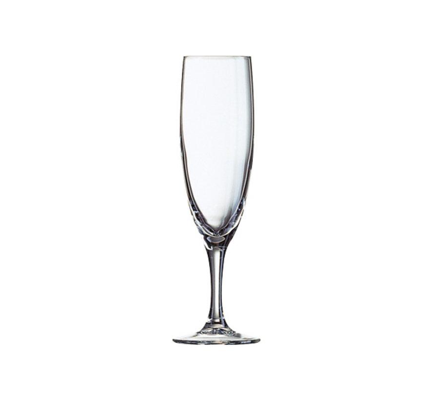Arcoroc Elegance champagneglas 17cl, 12 stuks