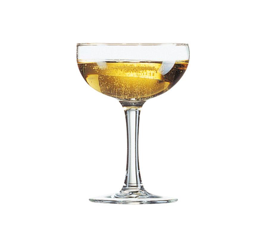 Arcoroc Elegance champagneglas coupe 16cl, 12 stuks