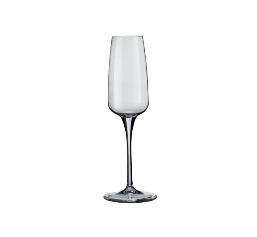 Bormioli Aurum champagneglas 23cl, 6 stuks
