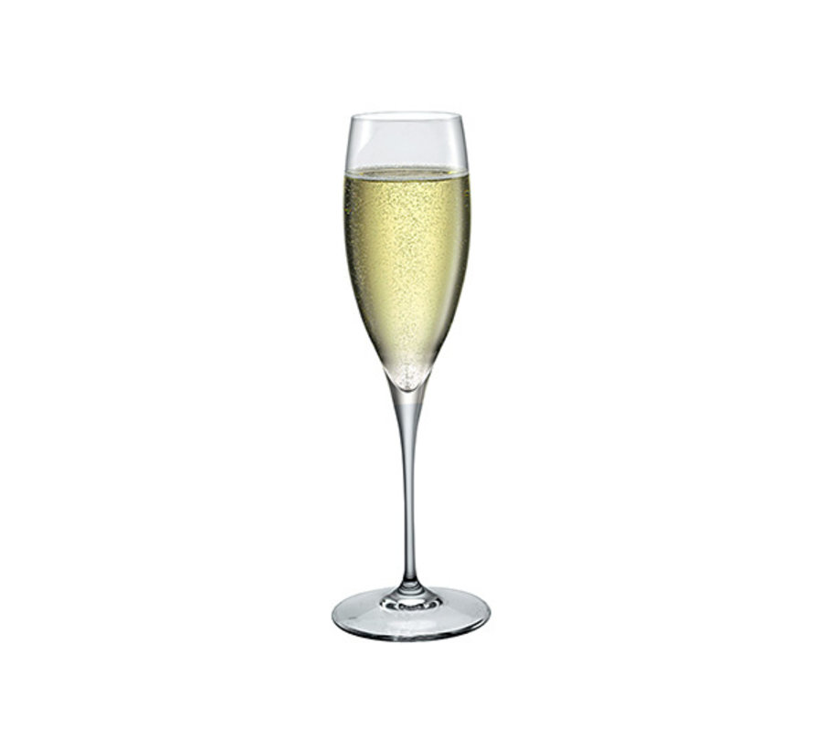 Bormioli Premium champagneglas s6 26cl, 6 stuks