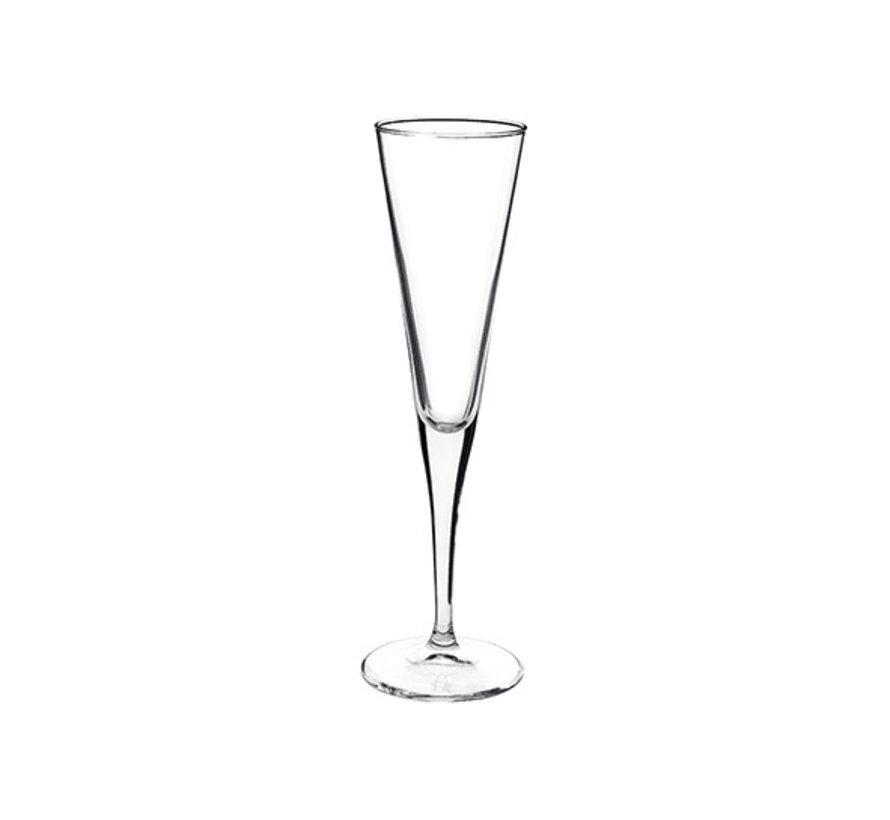 Bormioli Ypsilon champagneglas 16cl, 6 stuks