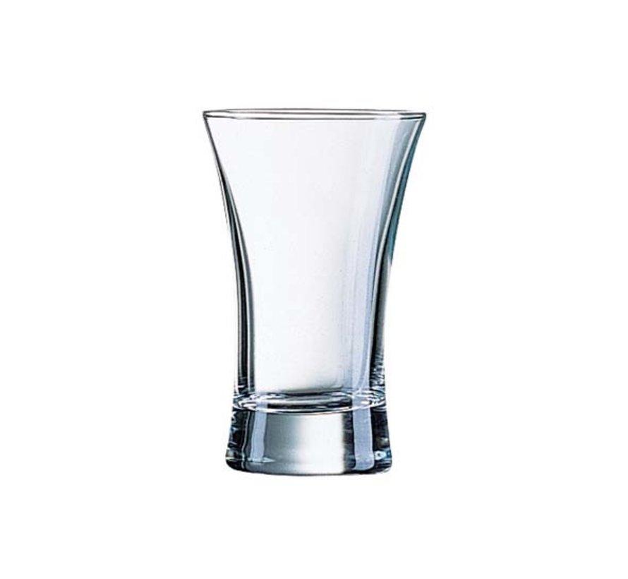 Arcoroc Hot shot shotglas 6,4cl, 12 stuks