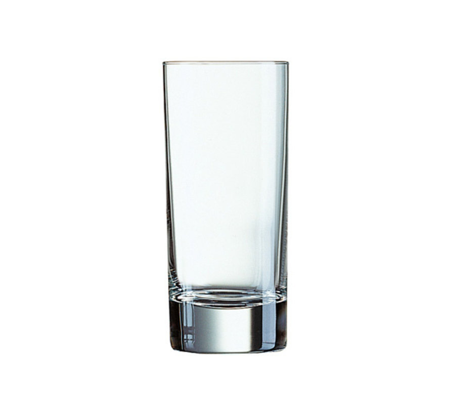Arcoroc Islande tubo longdrinkglas 22cl, 48 stuks