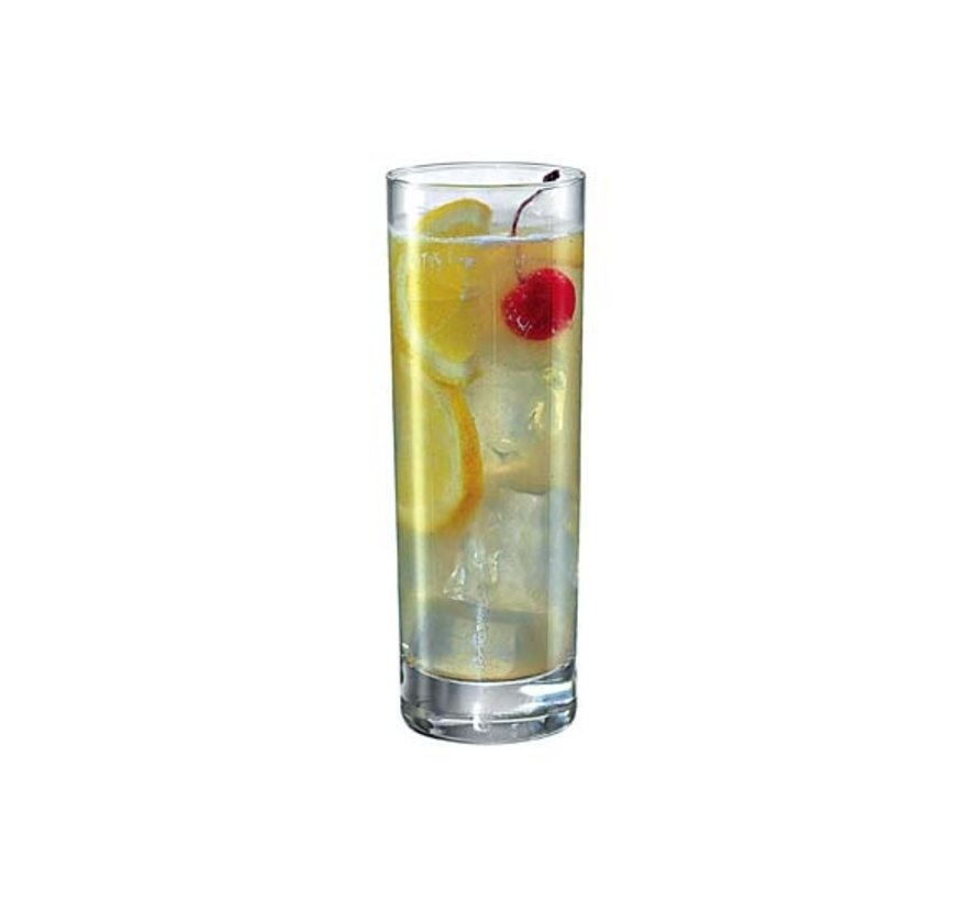 Bormioli Cortina longdrinkglas 30,5cl, 6 stuks