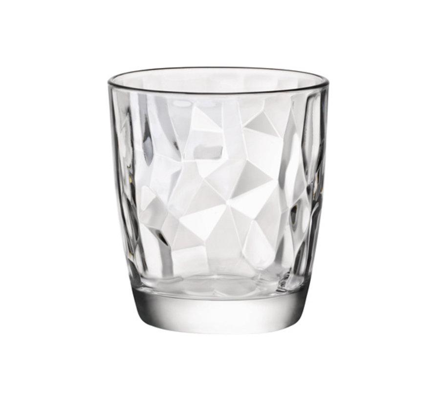 Bormioli Diamond tumbler s3 30cl, 3 stuks