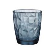 Bormioli Rocco Bormioli Diamond tumbler 30cl ocean blue, 1 stuk