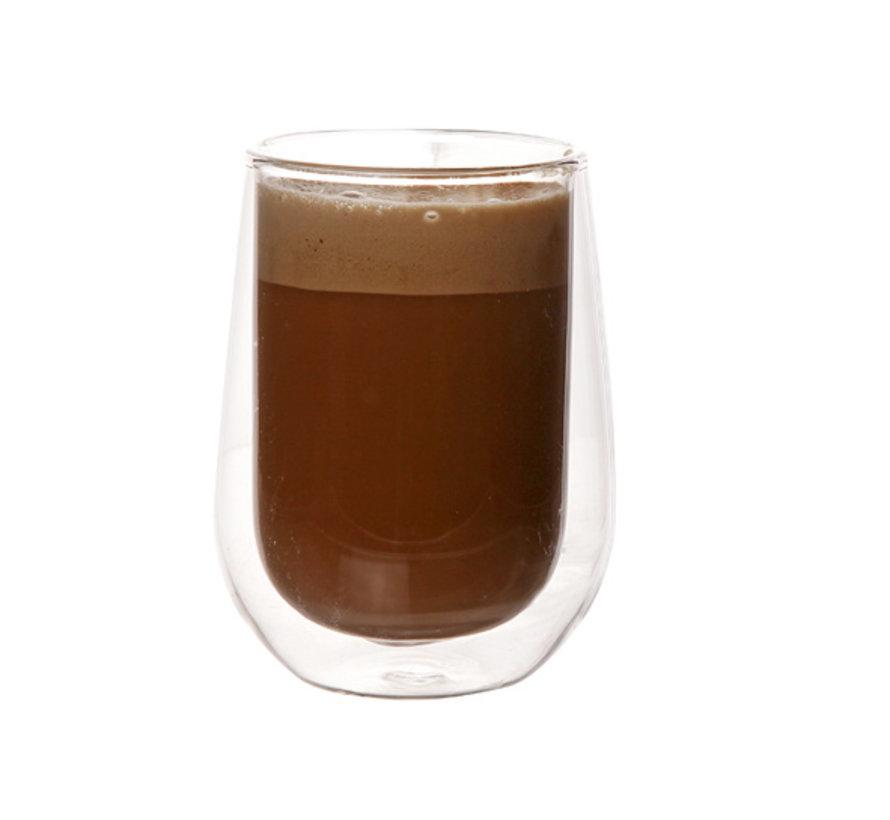 Cosy & Trendy Isolate koffieglas 20cl 6,3x10cm, 2 stuks