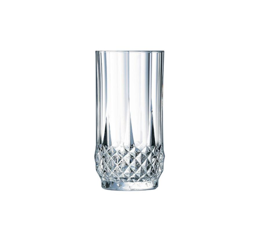 Eclat Longchamp waterglas 28cl, 6 stuks